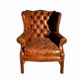 Dowing Wing Arm Chair Button